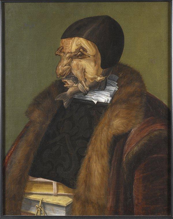 Le Juriste est un tableau peint par Giuseppe Arcimboldo en 1566, désormais conservé au National Museum à Stockholm
